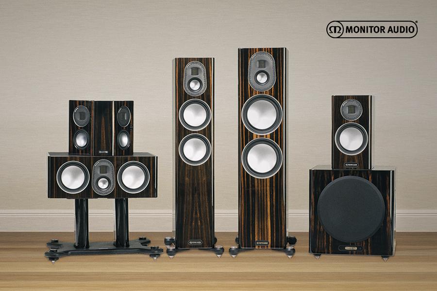 Nová řada Monitor Audio Gold5