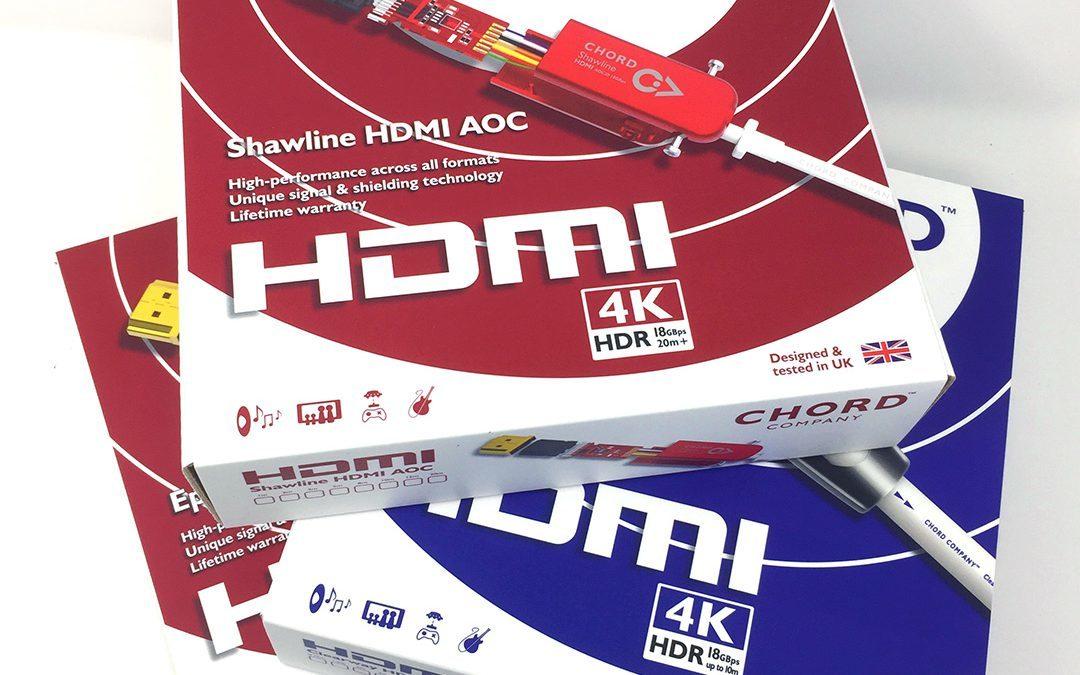 Chord – nové HDMI kabely
